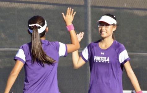 Girls Tennis Serves up First Home Win