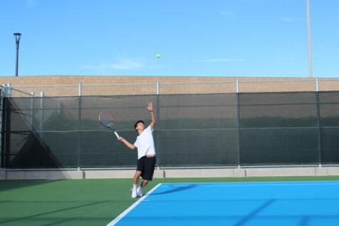 Boys' Tennis Defeated by Varsity