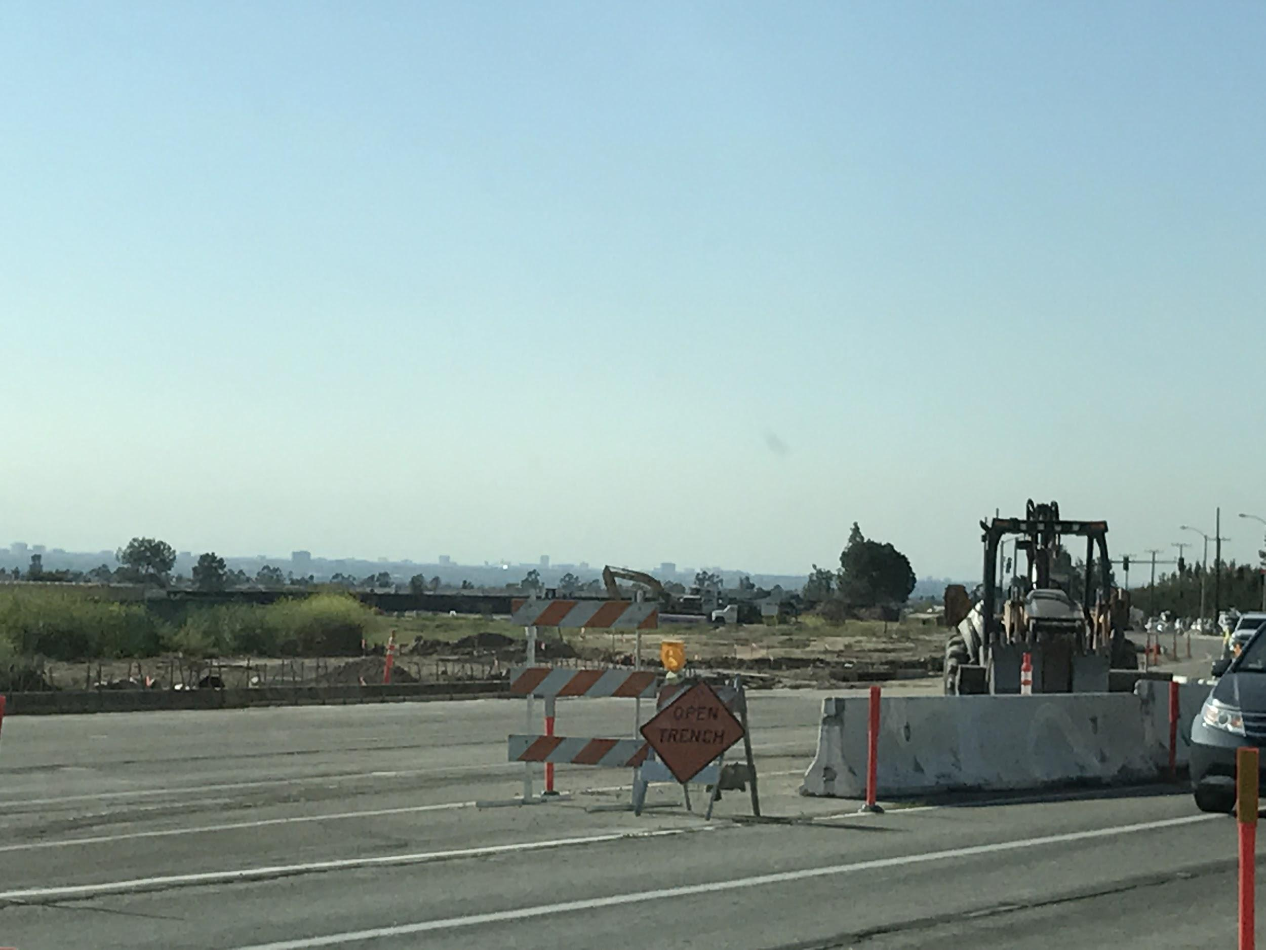 Irvine Boulevard has been under construction for several months.