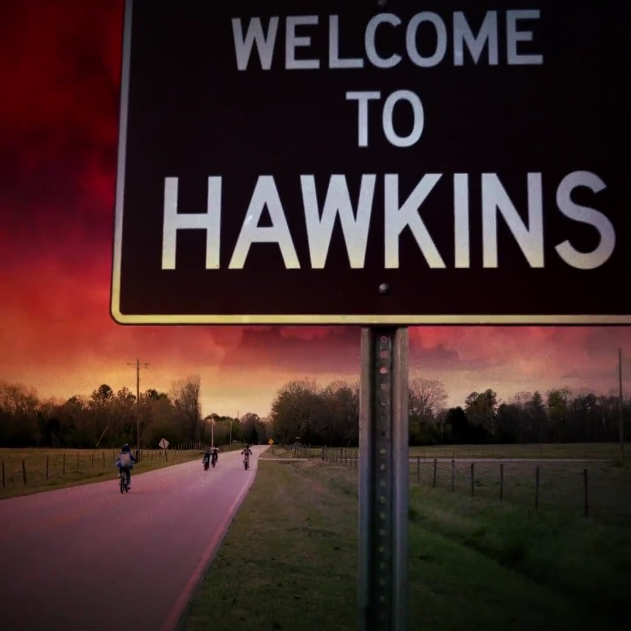 For Thanksgiving Break, enter Hawkins, Indiana.