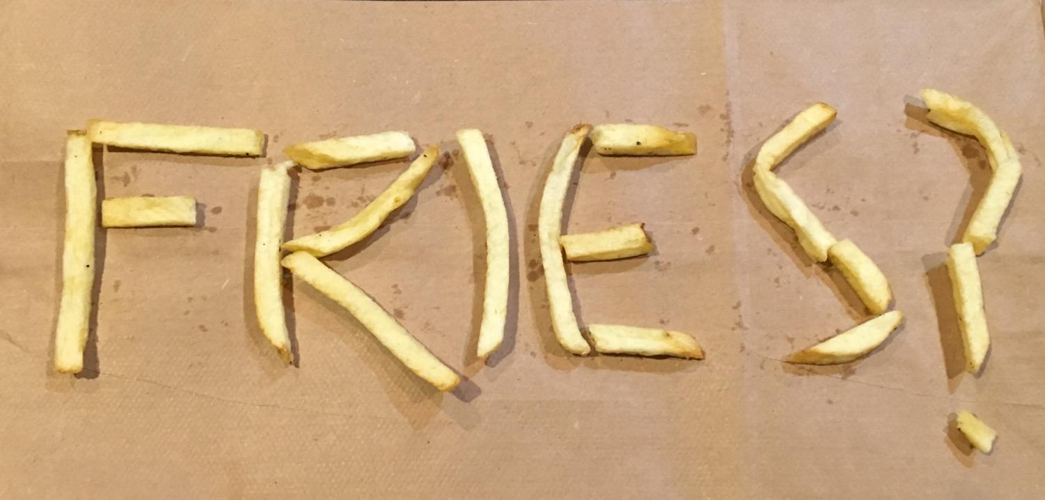 Who can't resist a nice batch of french fries?