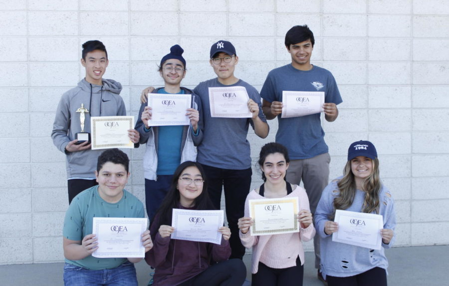 Portola Pilot Journalists Win Awards at Orange County Write-Off Competition
