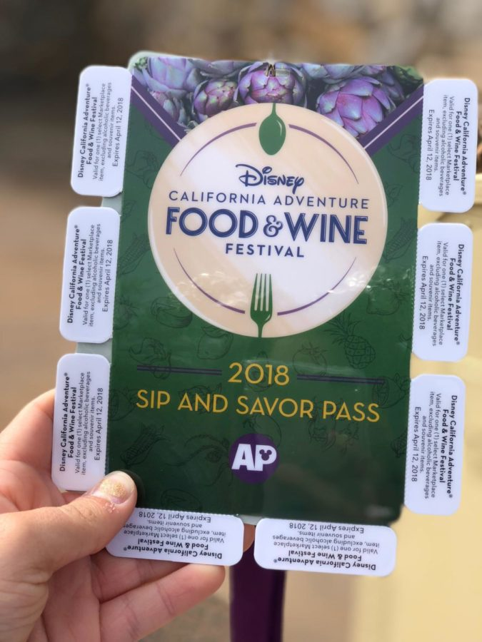 Disney%27s+Food+and+Wine+Festival+features+a+wide+variety+of+delicious+dishes+among+the+stands.++