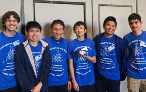 Math Club's First Competition on a Positive Slope