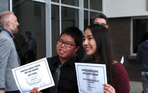 Recipients of Bulldog Excellence Awards demonstrate both P.R.I.D.E. Values and Character