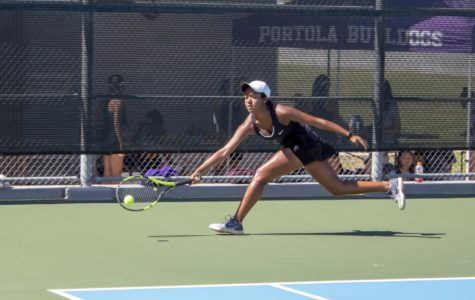 Varsity Girls Tennis Takes a Swing at its First Tournament