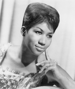 "20 year old Aretha Franklin pictured during the release of her album ""Lady Soul"""