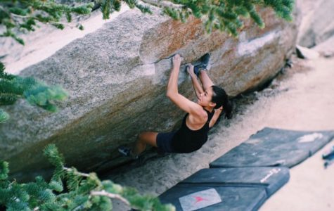 Rock Climbers Ground Up For Competition