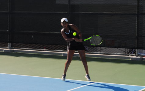 Saachi Pavani, an Ace for Varsity Girls' Tennis