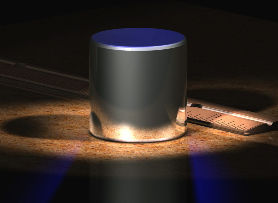 The+cylinder+is+a+computer-generated+model+of+the+old+International+Prototype+Kilogram+%28IPK%29.