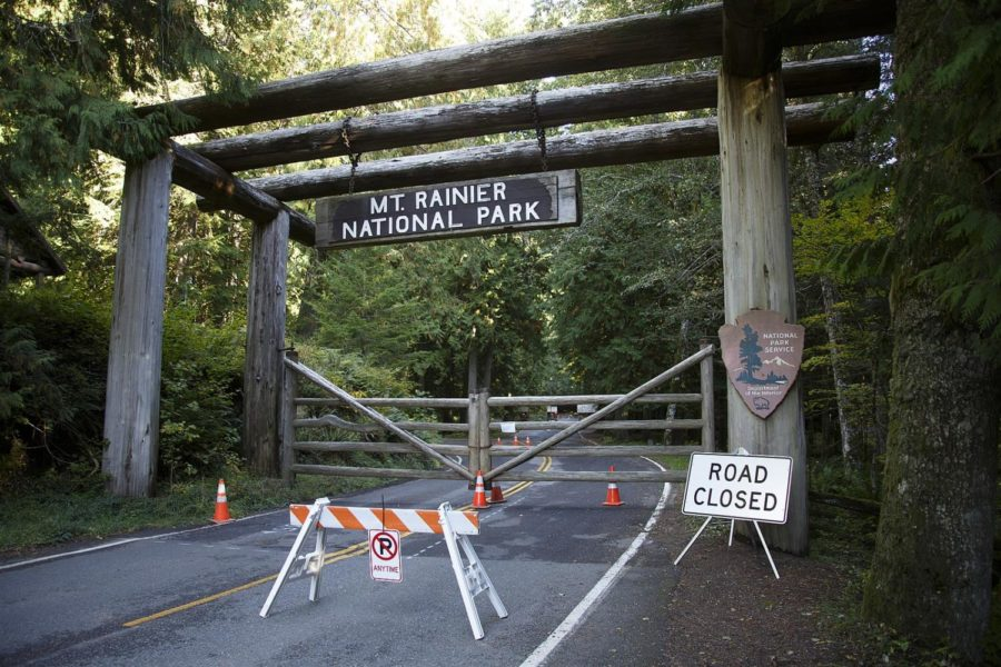 Mt.+Rainier+National+Park+in+Washington+was+one+of+the+numerous+national+parks+across+the+country+that+were+neglected+due+to+lack+of+funding+during+the+government+shutdown.