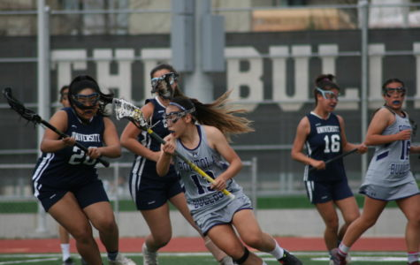 Girls' Lacrosse Takes Hard Hit in First Game
