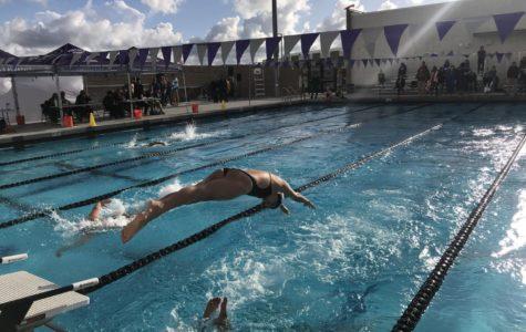 Girls' Swim Dives into First League Season