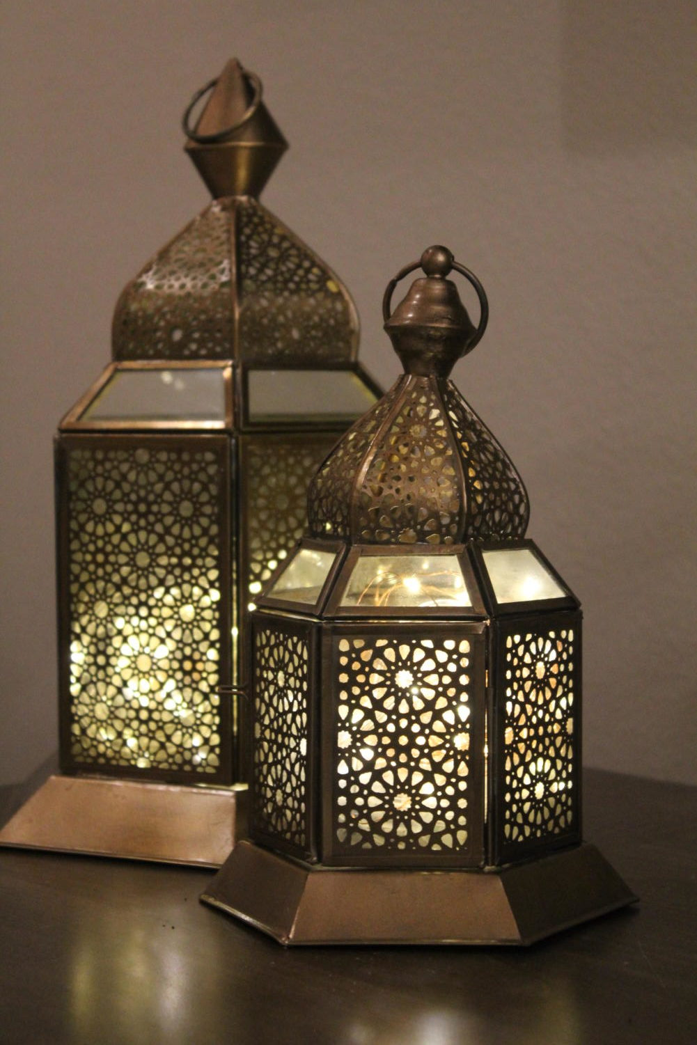 """It is a tradition for many families to decorate their homes for Ramadan. Decorations include lanterns, lights, signs stating """"Happy Ramadan,"""" and much more."""