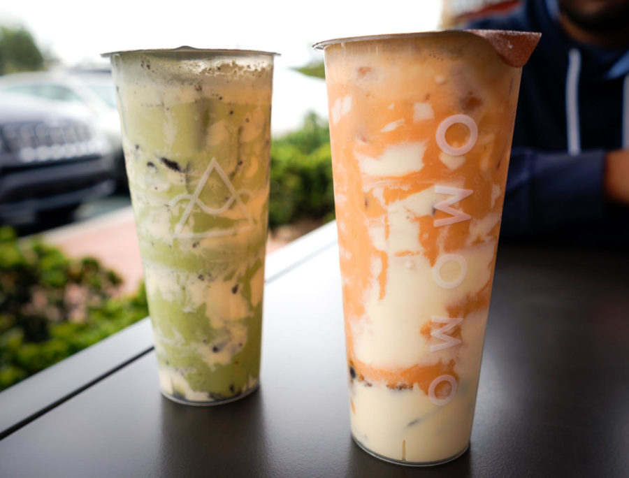 Omomo+Tea+Shoppe+has+one+of+the+most+aesthetic+interiors+and+instagrammable+drinks%2C+but+its+long+lines+and+average+boba+aren%E2%80%99t+for+milk+tea+connoisseurs.+