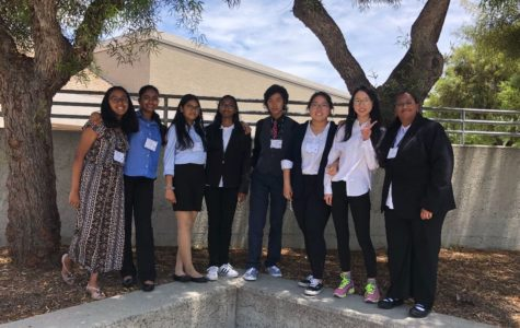 "OCAD includes Ananya Sampat, Neha Muvvala, Riya Jain, Souhita Thota, Desmond Wong, Bing Bing Ma, Si Yi ""Amy"" Huang and Aamina Thasneem Khaleel. During the lunch break of its JV competition on May 18 at Aliso Niguel High, the decathletes quiz one another for the multiple-choice subject tests."