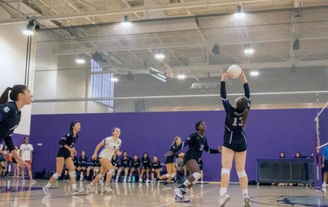 Girls' Volleyball Remains Hopeful Following Defeat against Beckman High