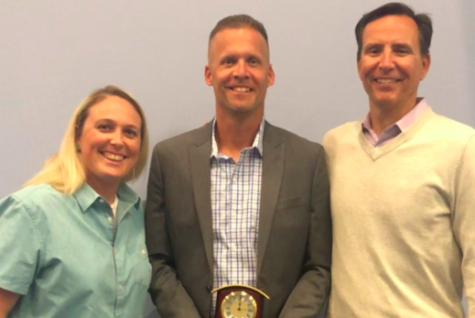 Basketball Coach Brian Smith Honored with Coach of Character Award