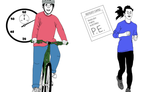 Biking to School is Worth Physical Education Credit