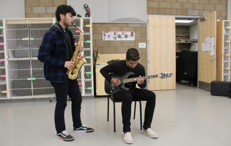 Musical Duo Creates Harmony Through Contrast