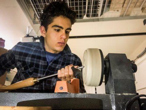 Junior Explores His Passion for Woodworking