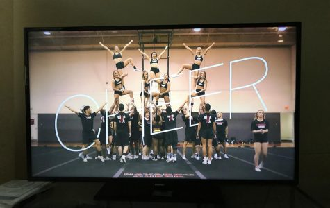 """Directed by Greg Whiteley, """"Cheer"""" has aesthetically-pleasing cinematography and consistent color schemes, with warm tones complementing the team's signature red."""
