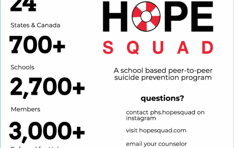 Hope Squad members aim to create a safe school environment, promote connectedness, support anti-bullying, encourage mental wellness, reduce mental health stigma and prevent substance misuse, according to the website.