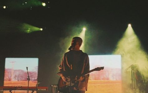 Zucker, depicted here performing at the El Rey Theater in Los Angeles on Nov. 19, has gained a strong localized fandom in Irvine. Jennifer Frey, a senior from Northwood High School, is amongst many high schoolers who have found a particular affinity to the artist and his style of music.