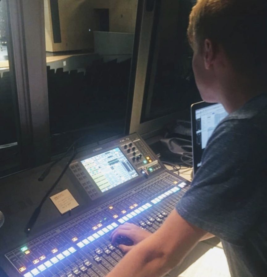 As a member of technical theater, Blank worked mainly on sound in his sophomore year before transitioning into lighting work this year. Much of Blank's work involves more than just making sure the audience can see the stage, but also enhancing the mood and atmosphere of the performance.