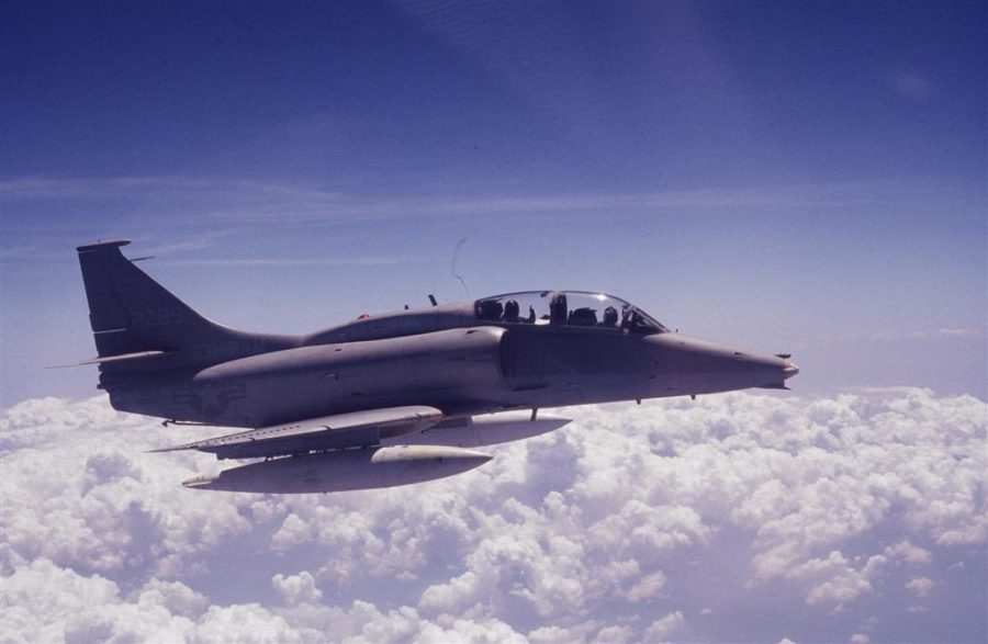Donaghy+flew+an+OA-4M+Skyhawk%2C+shown+here+departing+from+MCAS+El+Toro+Base+in+the+early+1980%E2%80%99s.