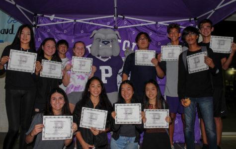 Honoring Athletes at the Fall Sports Top Dog Awards