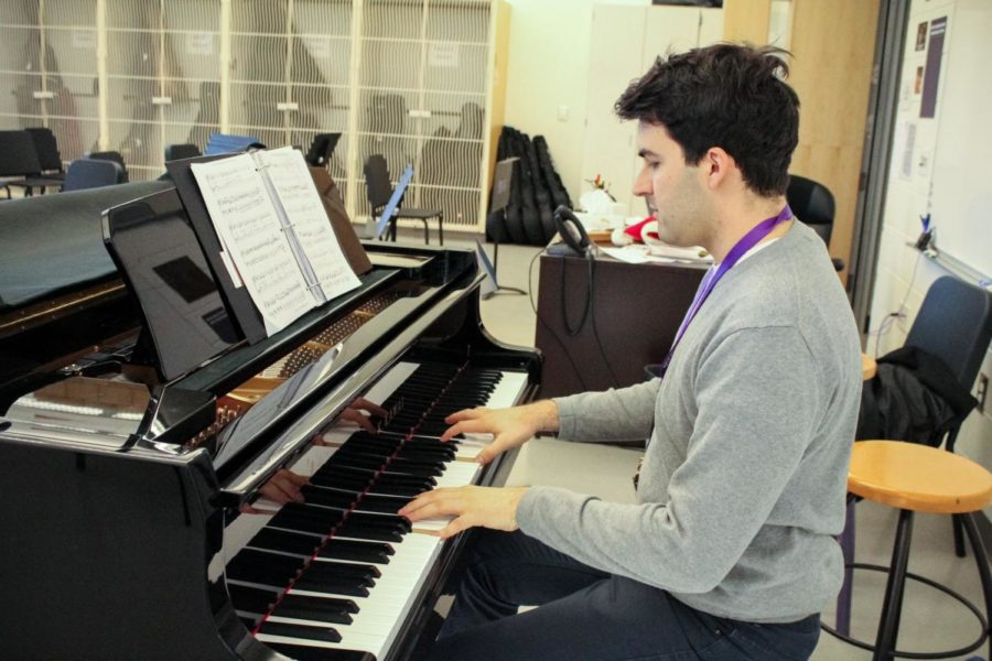 Adrian+Rangel-Sanchez+passionately+plays+the+piano+during+his+open+period.