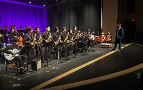 Assembly Draws Fine Arts Week to a Close