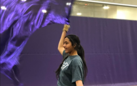 Practice Makes Perfect: Color Guard Twirls Its Way to a Close