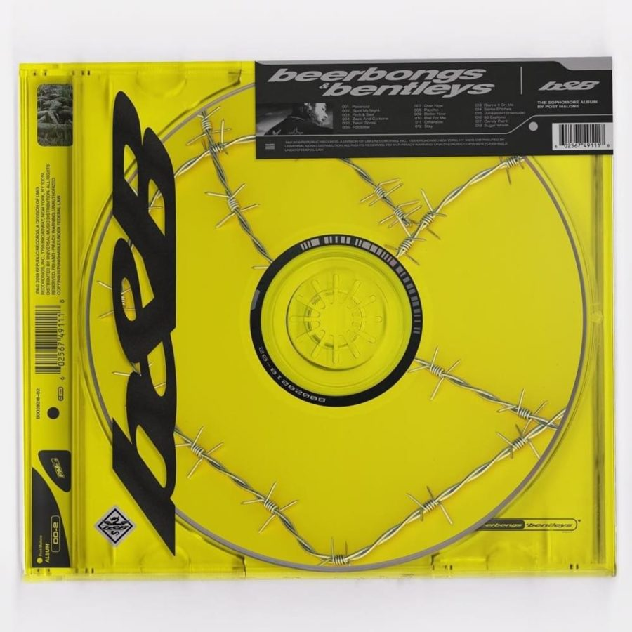 Post+Malone%27s+second+album+has+already+hit+large+numbers+of+sales%2C+perhaps+indicating+a+successful+publication+of+music.+