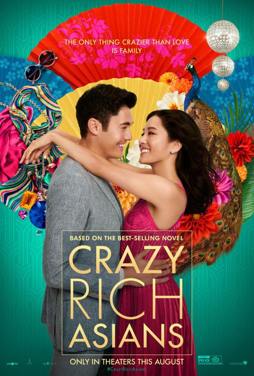 """Crazy Rich Asians"" topped the box office upon its release and grossed over $164 million dollars."