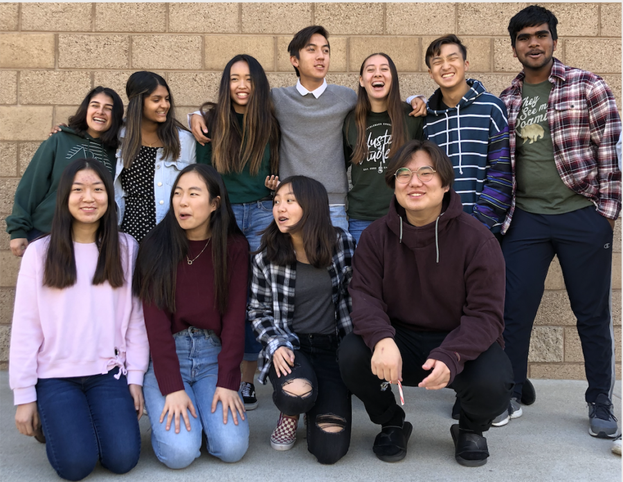 Many members of Portola Singers enjoy the opportunity to practice harmonizing with each other, a skill that is crucial when singing in a bigger group.