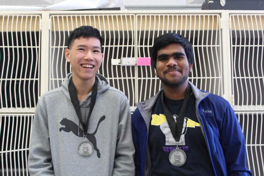 Juniors Jason Lee and Nishad Francis won their medals after a season of hard work, collaboration and dedication.