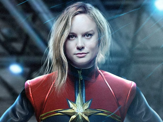 Captain+Marvel+shoots+past+expectations+in+theaters+as+the+first+Marvel+film+to+feature+a+female+lead.+