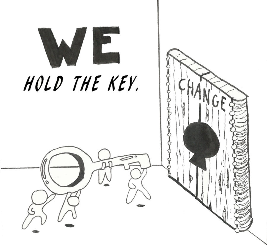 Staff Editorial: Raise Your Voice for Change