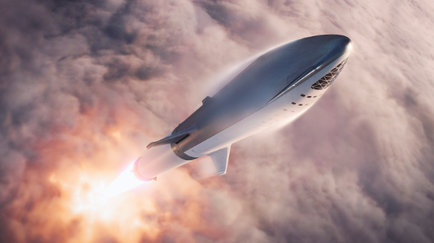 SpaceX's Big Falcon Rocket (BFR) is planned for Earth-to-Earth flights that shorten most long-distance flights around the world to around thirty minutes, according to the SpaceX website.