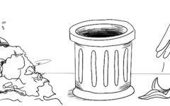 Staff Editorial: Kicking Littering to the Curb, a Solution to the Trash Problem on Campus