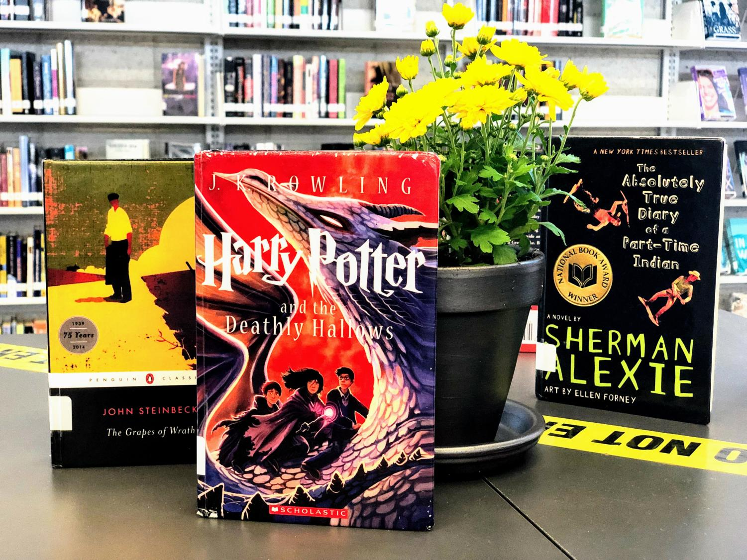 Some of the most popular novels in the United States have been banned or censored for their controversial ideas. A high number of the novels read in Portola High English courses have been censored or banned at some time.