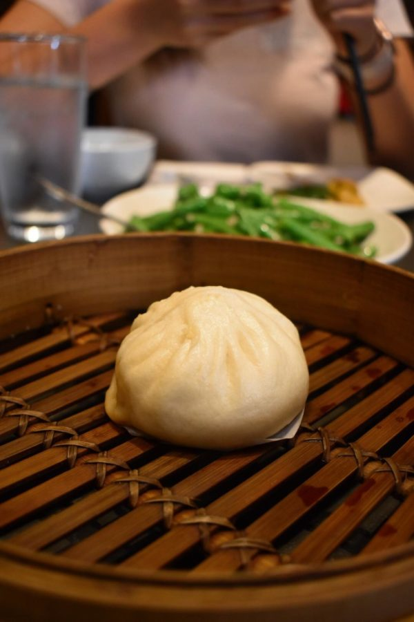 Xiao long bao at Din Tai Fung in Costa Mesa, CA.