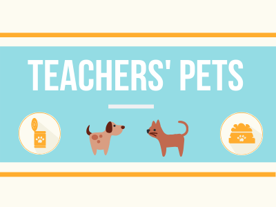 Taking a Look at Our Teachers' Favorite Animal Companions