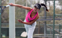 Freshman Sets the Pace for Girls' Tennis Team