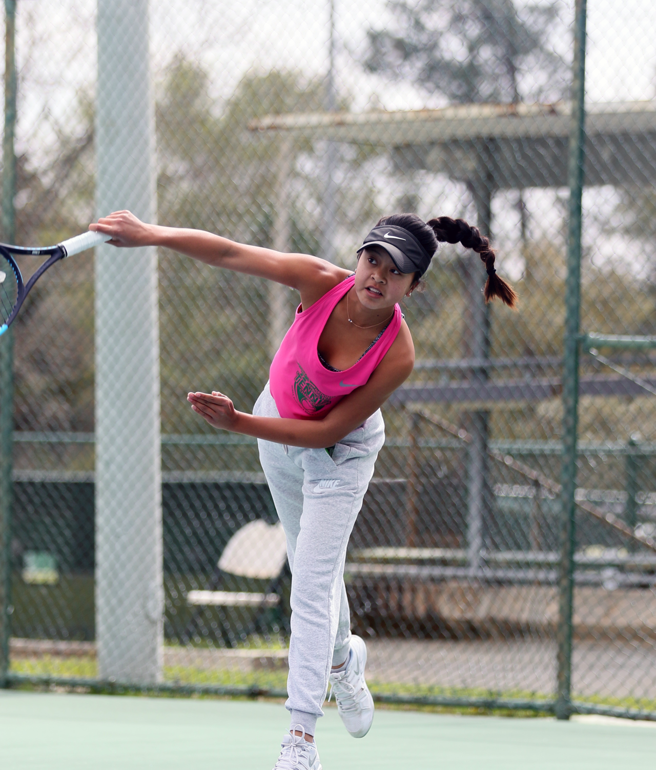 Freshman Bella Chhiv competes in tournaments regularly, such as the United States Tennis Association (USTA) National Springteam Championship hosted in Mobile, Alabama; additionally, she is currently ranked 11th in California, according to the Babolat recruiting list on the Tennis Recruiting Network.