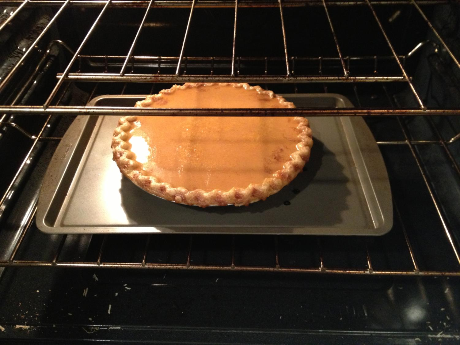Although the idea of using a root vegetable to create a pie might be repulsive to some, it actually creates for a sweeter flavor profile and closely resembles a  pumpkin pie's nutty and smooth taste.