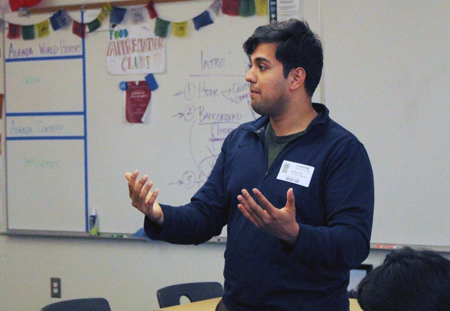 Aditya Pai speaks about his opinions of the current Democrats candidates running for the 2020 presidential nomination.