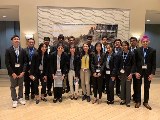 After months of preparation, the DECA team competes in its first competition in Anaheim where they competed against other schools located in Orange County.